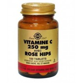 Solgar vit c 250mg rose 100 tablettes