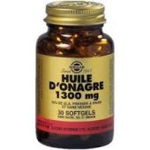Solgar Huile D'onagre 1300mg softgels pm