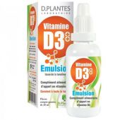 D.Plantes Vitamine D3++ Emulsion - 20 ml