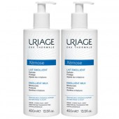 Uriage Xémose Lait emollient Lot 2 x 400ml