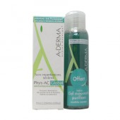 A-derma phys-ac Global + Gel moussant 100ml