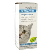 Vetoform Spécial Vers Solution Chat  50 ml