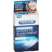 Rapid white Strips de Blanchiment 14 strips
