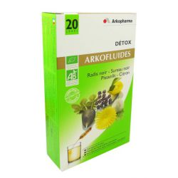 ARKOFLUIDE Organic Detox box 20 ampoules