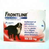 FRONTLINE spot on chien +40kg bte 6