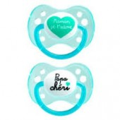 Dodie Sucette 0/6 Mois Silicone Duo N°31