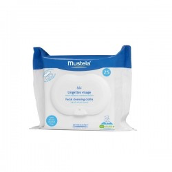 MUSTELA Face Baby Wipes 25