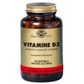 Solgar Vitamine D3 softgels