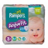 Pampers Active Fit 4-9kg 26 unités