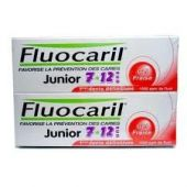 Fluocaril Dentifrice Junior 7/12 Fraise Duo