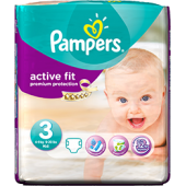 Pampers age 3 active fit 4-9 kg