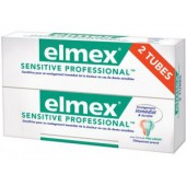 Elmex Dentifrice Sensitive professional Lot de 2 x 75ml