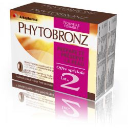 Arkopharma Phytobronz Préparation Solaire 30 capsules duo