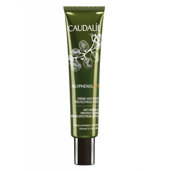 caudalie polyph nol c15 cr me anti rides protectrice spf20 40ml. Black Bedroom Furniture Sets. Home Design Ideas
