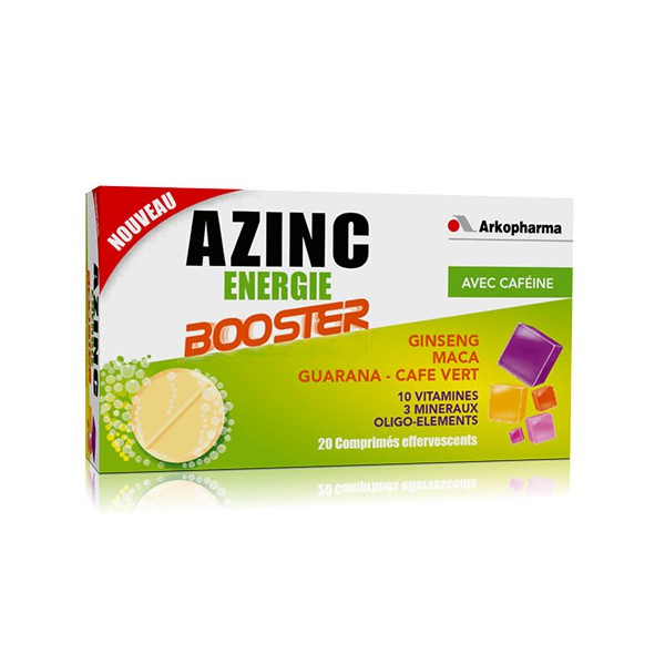 azinc nergie taurine booster. Black Bedroom Furniture Sets. Home Design Ideas
