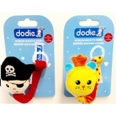 Dodie Attache sucette Doudou tigre ou pirate