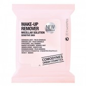 Comodynes Make up Remover solution micellaire 20 lingettes