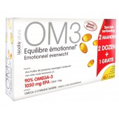 OM3 Équilibre Émotionnel Lot de 3 x 60 Capsules