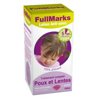 Full Marks Lotion Anti-Poux + Peigne 100ml