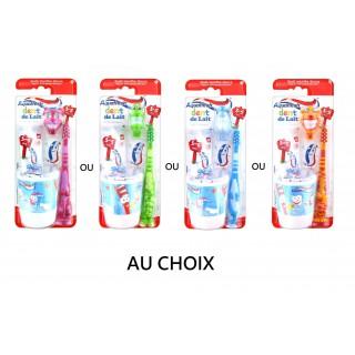 Aquafresh Kit de Brossage Dent de Lait 3-5 Ans