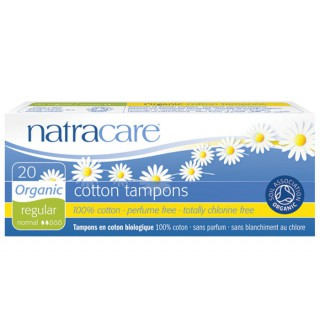 Natracare Tampons Sans Applicateur 20 unités