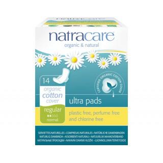 Natracare Serviettes Hygiéniques Ultra à AilettesNormal Boite 14