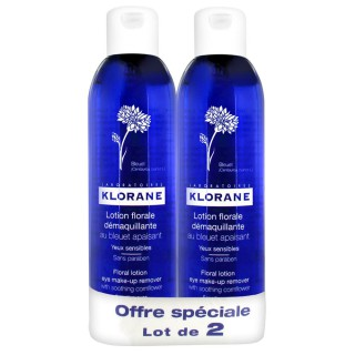 Klorane Bleuet lotion 200ml duo