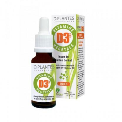 D.Plantes Laboratoire Vitamine D3++ Végétale - 20 ml