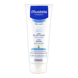MUSTELA Baby Cleansing Cream 2in1 Hair&body 200ML