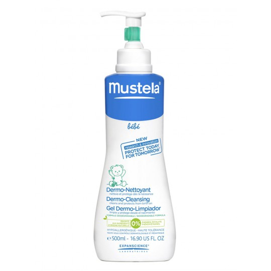 MUSTELA baby Dermo Cleansing Pump Bottle 500ml
