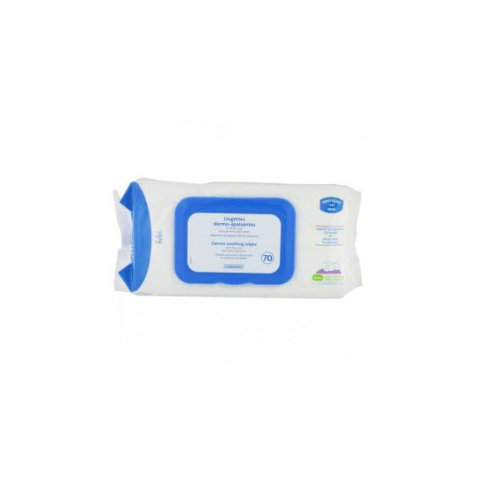 MUSTELA Soothing baby Wipes 70unites