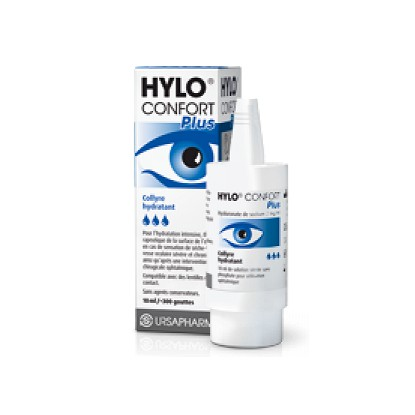 Hylo Confort Plus Eye drops Intensive Hydration 10ml
