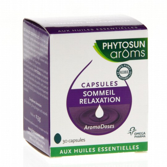 AromaDoses Sleep-Relaxation 30caps