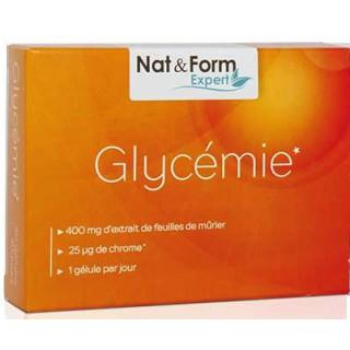 Nat & Form Glycémie 60 gélules