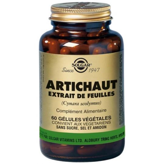 Solgar Artichaud extrait de feuilles 60 gélules