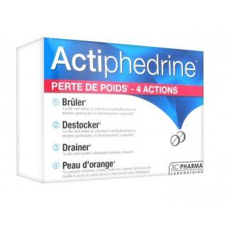 3C Pharma Actiphedrine 60 Comprimés