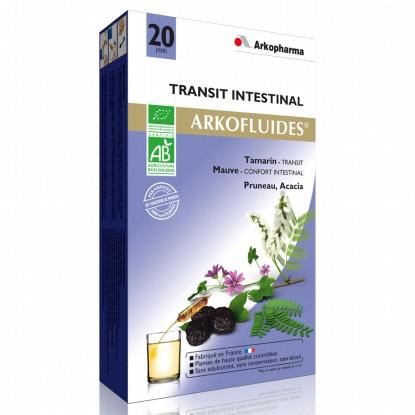 Arkofluide Transit Intestinal 20 Ampoules
