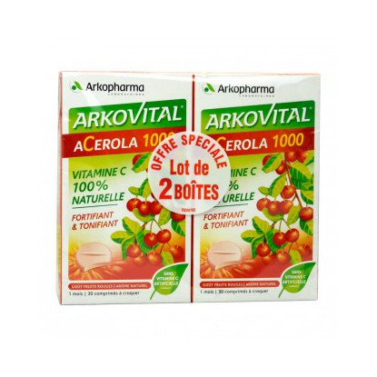 Arko Acerola 1000 2x30 tabs