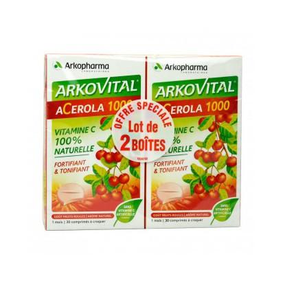 Arko Acerola 1000 cp boite de 30 lot de 2
