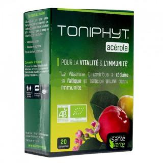 Santé Verte Toniphyt acérola 20 comprimés