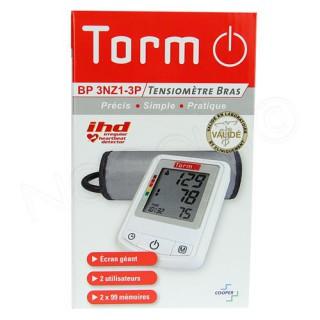 TORM Tensiomètre de Bras BP 3NZ1