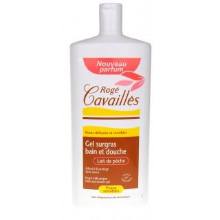 Rogé Cavaillès Gel bain Lait de pêche 400ml