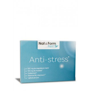 Nat & form Anti stress 30 gélules