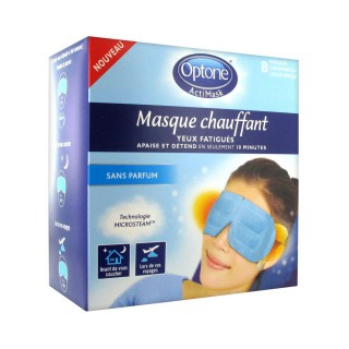 Optone ActiMask Masque Chauffant x 8