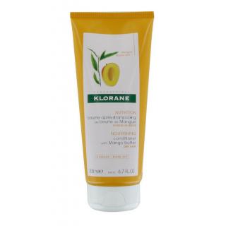 Klorane baume après-shampoing beurre de mangue 200 ml