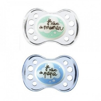 Dodie Silicon Pacifier package +6 Months N36