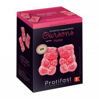 Protifast  Oursons Saveur Fraise Phase 1