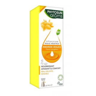 Phytosun Arôms Huile Végétale d'Amande Douce 50 ml