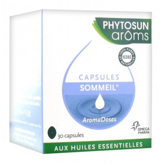 Phytosun Arôms Sommeil Relaxation 30 Capsules