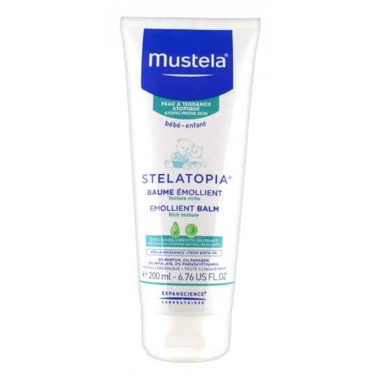 Mustela Stelatopia baby Balm Tube 200ml